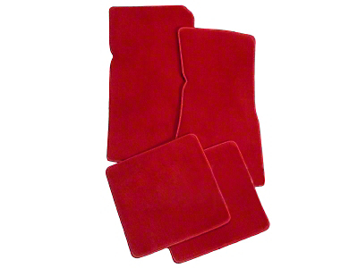 Lloyd Red Floor Mats (79-93 All)