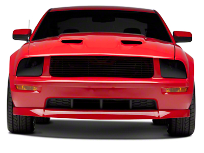 Mach 1 Style Hood - Unpainted (05-09 GT, V6)
