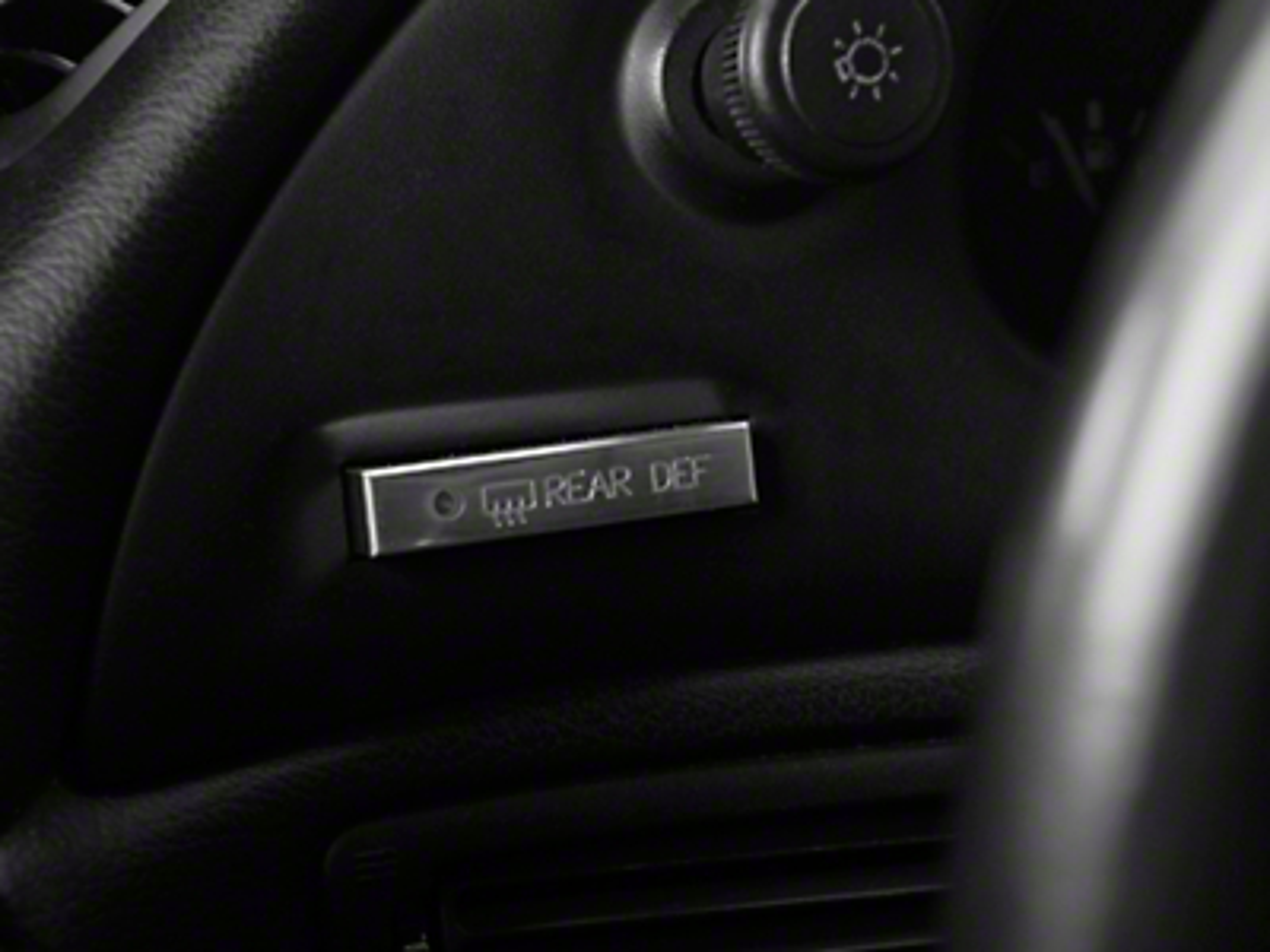 Modern Billet Polished Billet Defroster Button (94-00 All)