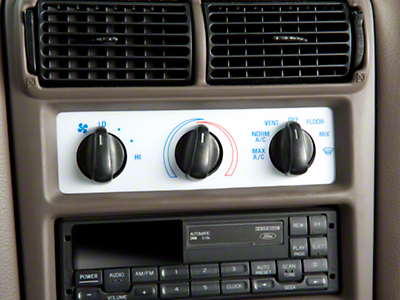 White A/C Gauge Face (94-00 All)