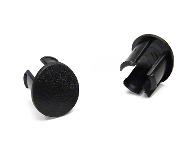 OPR Arm Rest Pad Plugs - Black (87-93 All)