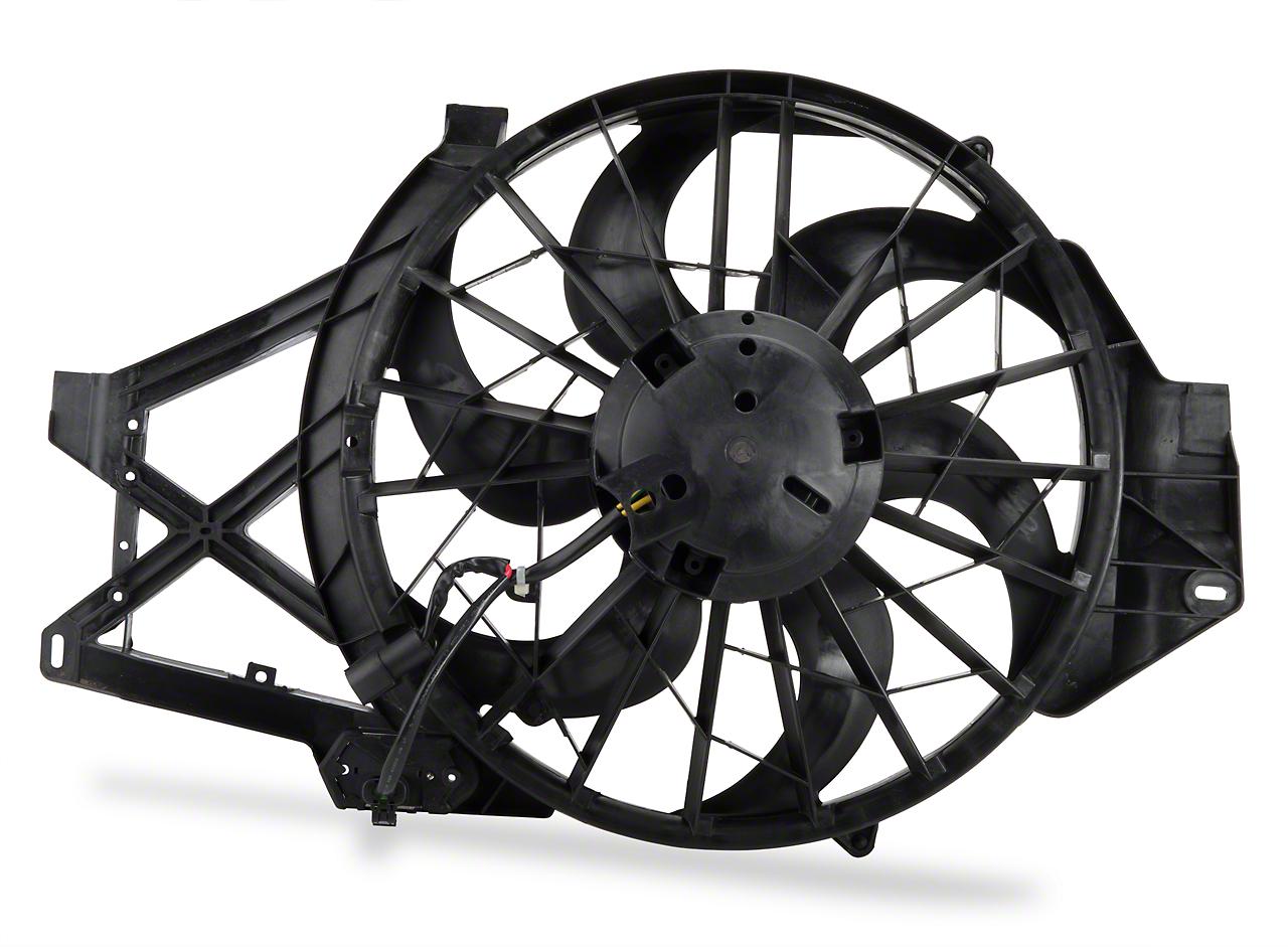 OPR Radiator Fan Assembly (01-04 GT, Mach 1, Cobra)