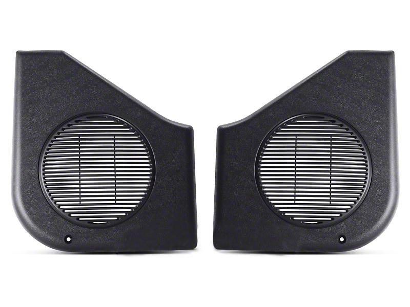 OPR Black Door Speaker Covers - Pair (87-93 All)