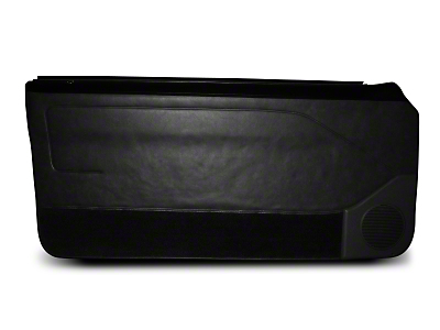 OPR Black Door Panels w/ Manual Windows & Carpeting - Coupe, Hatchback (87-93 All)