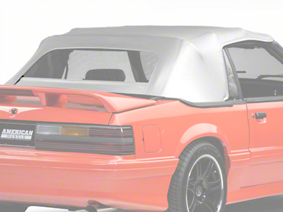 OPR Replacement Convertible Top - White (83-90 All)