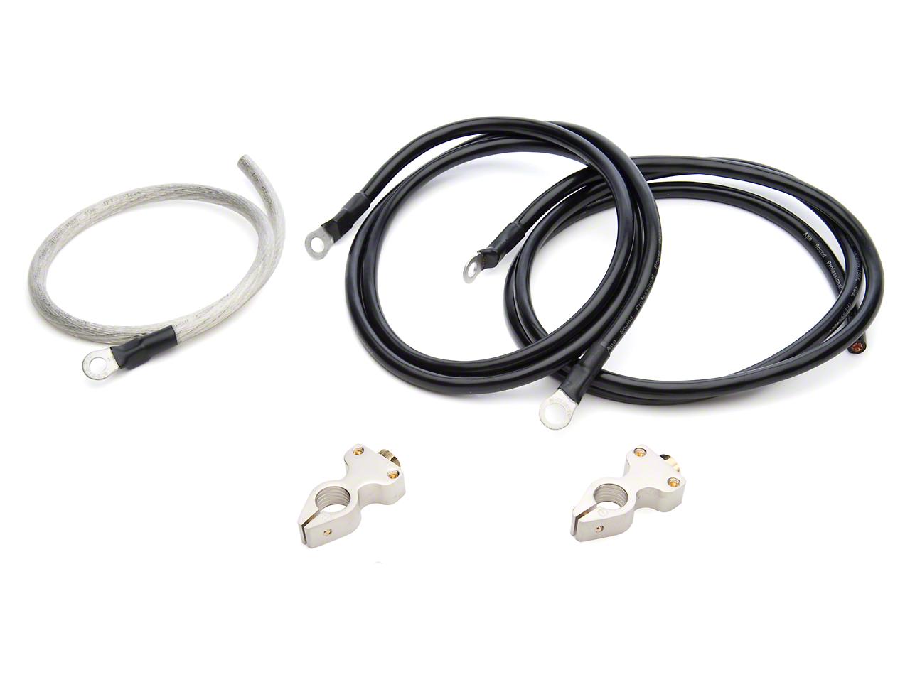 PA Performance Premium Battery Cable Kit (87-93 5.0L)