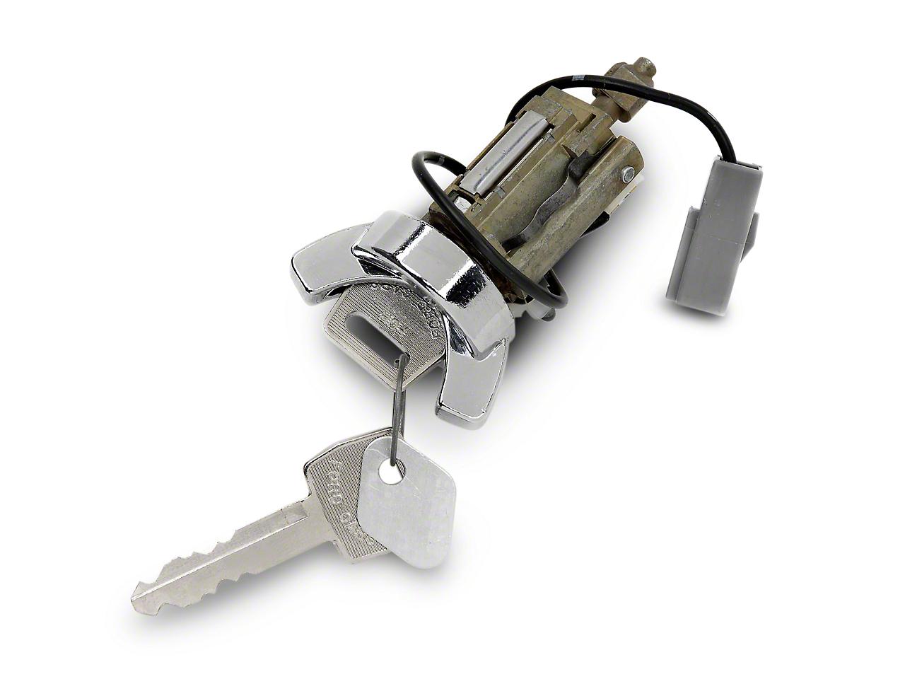 OPR Ignition Lock Cylinder - Chrome (79-86 All)