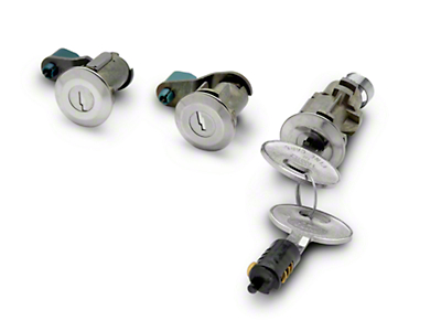 OPR Lock Set - Stainless (87-93 All)