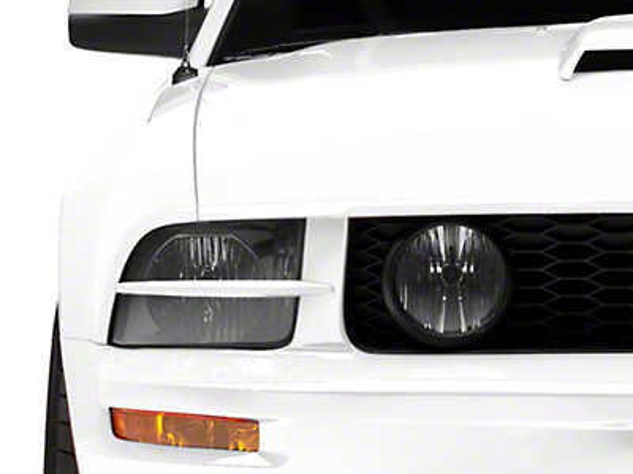MMD Headlight Splitters - Unpainted (05-09 GT, V6)