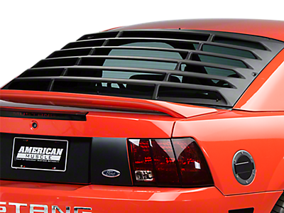 1999 2004 Mustang Louvers Quarter Window Americanmuscle
