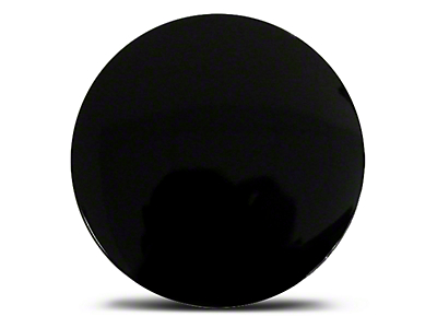 Black Aluminum Center Cap - Large