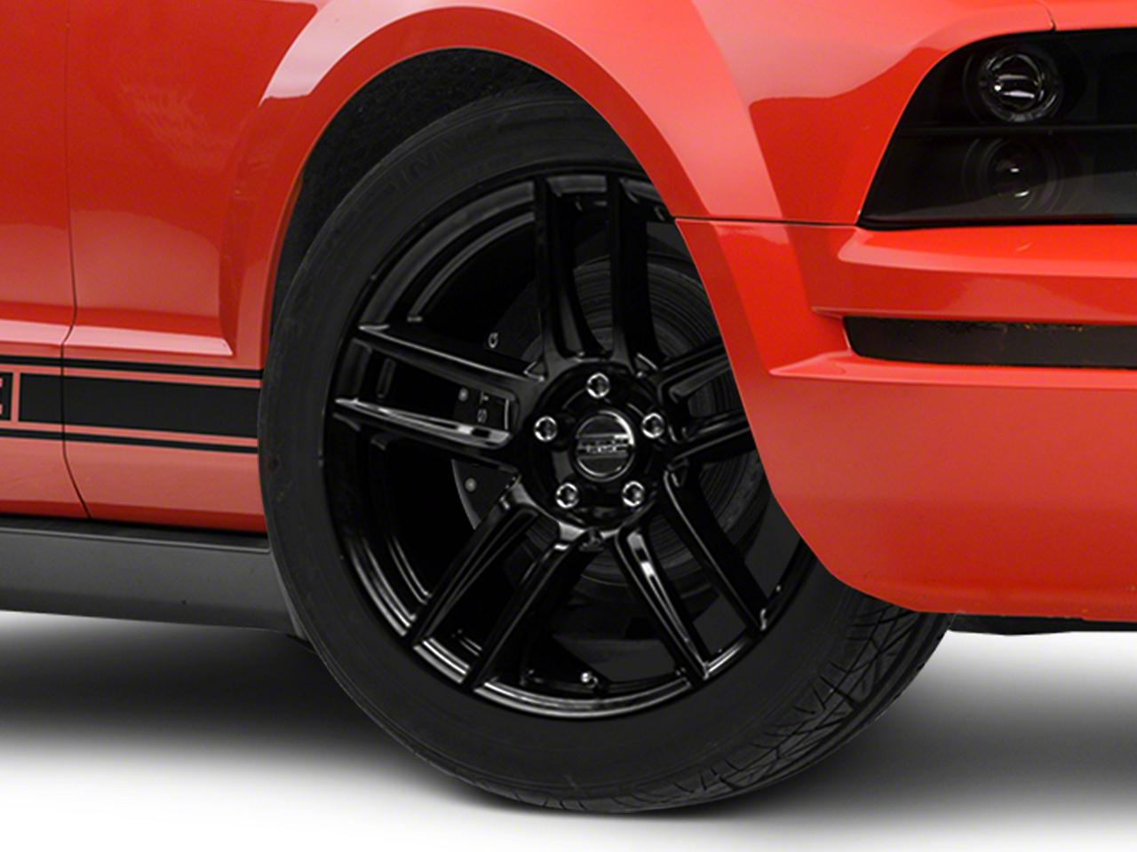 Laguna Seca Style Black Wheel - 19x9 (05-14 All)