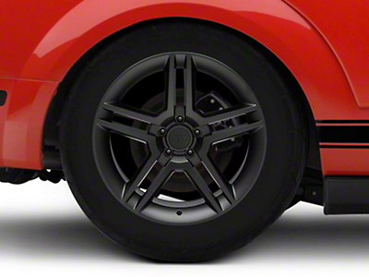 2010 GT500 Style Matte Black Wheel - 18x10 (05-14 All)