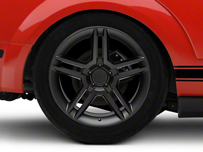 2010 GT500 Style Matte Black Wheel - 19x10 (05-14 All)