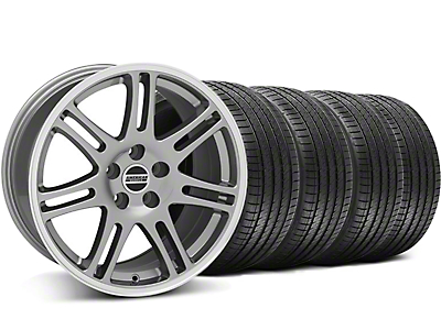 10th Anniversary Cobra Style Anthracite Wheel & Sumitomo Tire Kit - 17x9 (94-98 All)