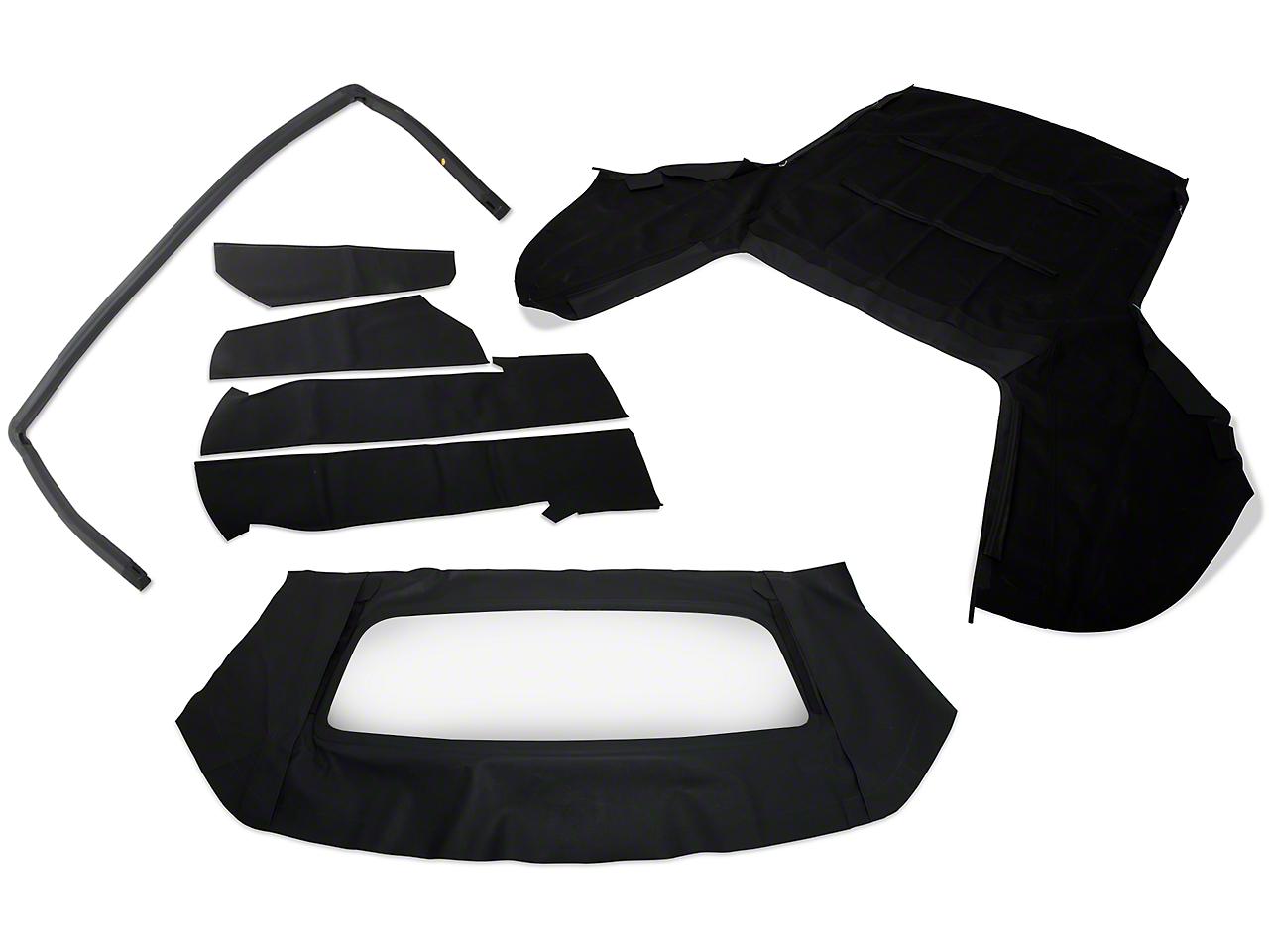 OPR Convertible Top Resto Kit - Black (91-93 All)