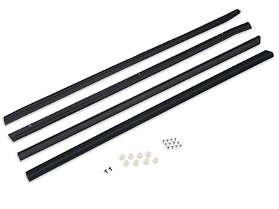 OPR Exterior Door to Window Molding & Seal Kit (87-93 Coupe, Hatchback)