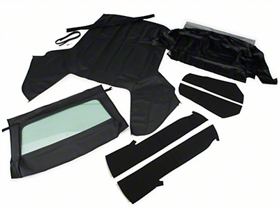 OPR Convertible Top Kit - Black (83-90 All)