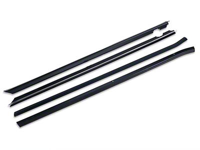 OPR Inner And Outer Door Window Weatherstrip Kit - Coupe/Hatchback (87-93 All)
