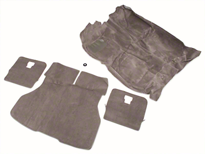OPR Floor and Hatch Carpet Kit - Smoke Gray (87-89 Hatchback)