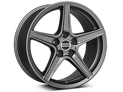 1999-2004 Black Chrome Saleen Style Wheels | AmericanMuscle