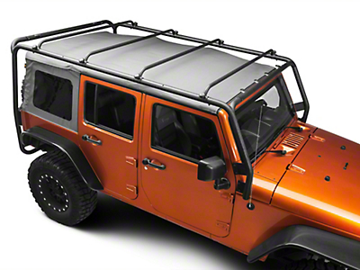 Barricade Roof Rack - Textured Black (07-17 Wrangler JK 4 Door)