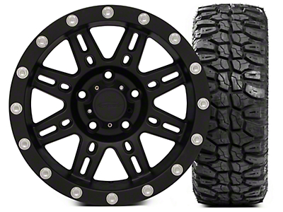 Pro Comp Alloy Series 7031 16x8 Wheel - and Extreme M/T 315/75/16 Kit (07-17 Wrangler JK)