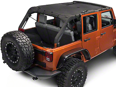 Rugged Ridge Full-Length Eclipse Sun Shade (07-17 Wrangler JK 4 Door)