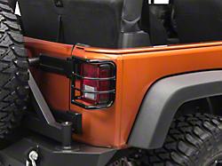 Redrock 4x4 Jeep Wrangler Grille Guard Gloss Black