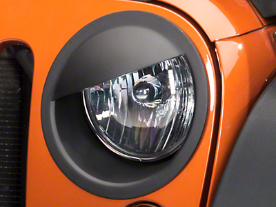 RedRock 4x4 Angry Eyes Headlight Conversion (07-17 Wrangler JK)
