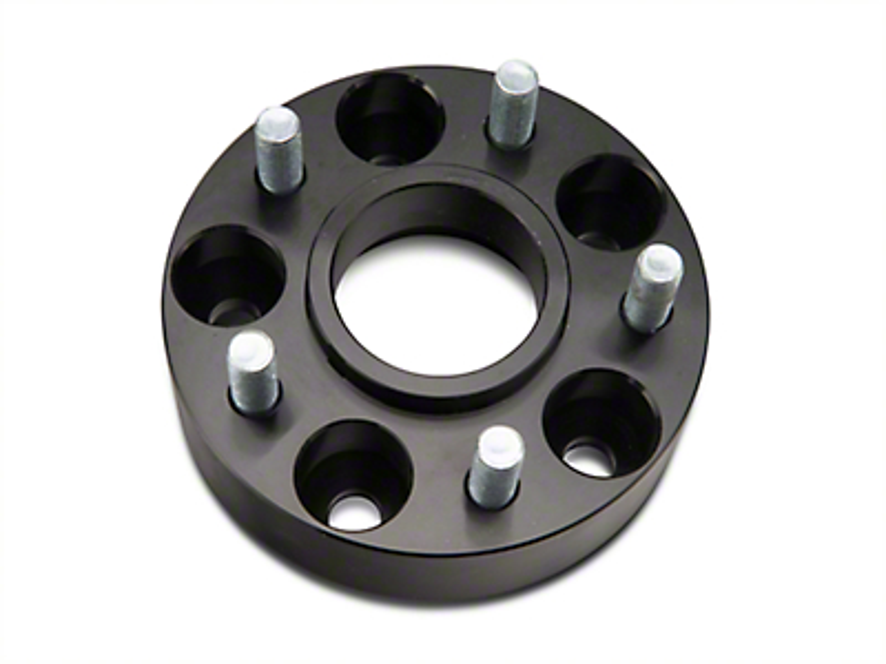 RedRock 4x4 1.5 in. Wheel Spacers - Black - 5x4.5 Bolt Pattern (87-06 Wrangler YJ & TJ)