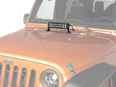 KC HiLiTES 10 in. C-Series C10 LED Light Bar - Spot/Spread Combo (87-17 Wrangler YJ, TJ & JK)