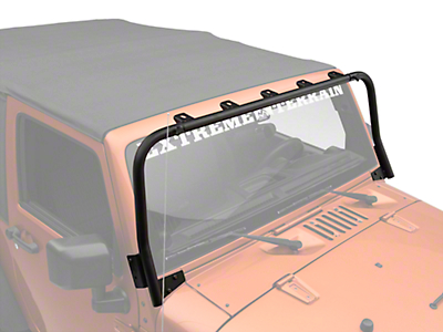 KC HiLiTES Overhead Light Bar - Black (07-17 Wrangler JK)