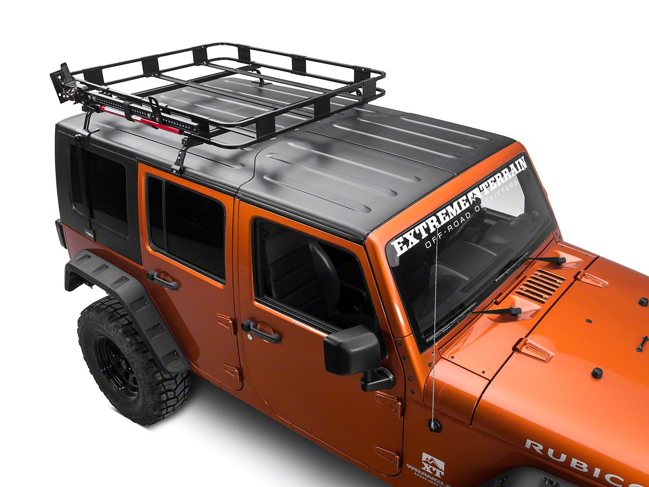 Surco Hi Lift Jack Carrier for Safari Rack (87-17 Wrangler YJ, TJ & JK)