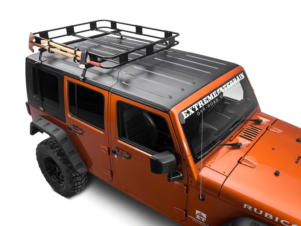 Surco Ax and Shovel Carrier for Safari Rack (87-17 Wrangler YJ, TJ & JK)