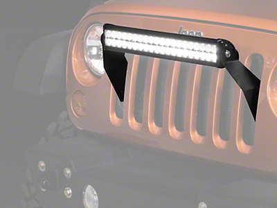Raxiom 21.5 in. Double Row LED Light Bar (87-17 Wrangler YJ, TJ & JK)