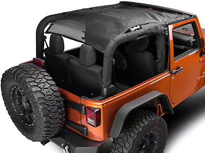 Barricade FullShade Top (07-17 Wrangler JK 2-Door)