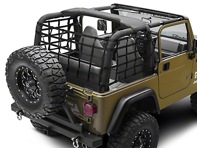TruShield Wrap Around Net - One Piece (92-06 Wrangler YJ & TJ)