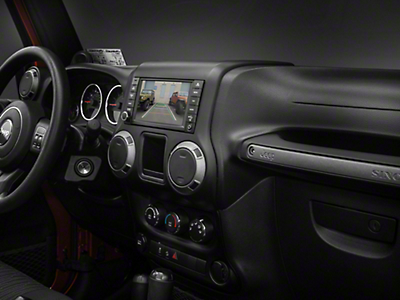 Raxiom OE-Style Navigation w/ Bluetooth & Back-up Camera (07-17 Wrangler JK)