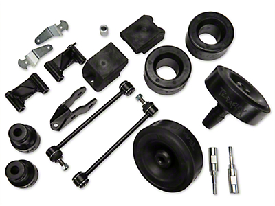 Teraflex 2.5 in. Performance Budget Boost Kit w/o Shocks w/Adapters (07-17 Wrangler JK)