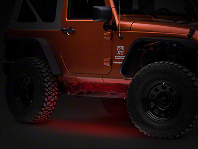 Axial Flexible LED Strip 36 in. - Red (87-14 Wrangler YJ, TJ, JK)