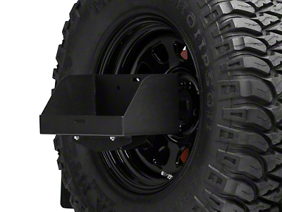 MORryde Spare Tire Jerry Can Holder w/ Tall Tray (87-17 Wrangler YJ, TJ & JK)