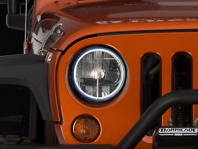 Delta Xenon HALO 7 in. Headlight Kit (07-17 Wrangler JK)