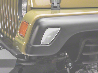 Axial Clear Side Marker Lights - Pair (97-06 Wrangler TJ)