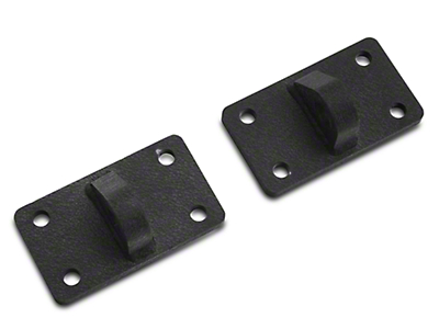 Rugged Ridge XHD D-Shackle Brackets (07-17 Wrangler JK)