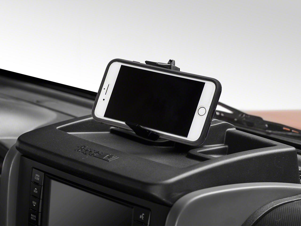 Rugged Ridge Dash Multi-Mount Storage System & Phone Kit (07-10 Wrangler JK)