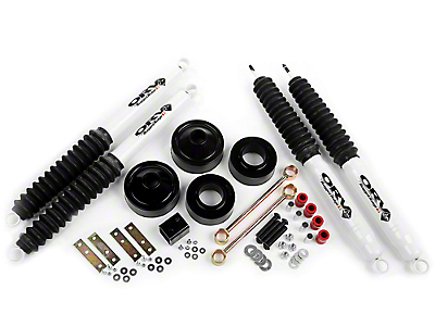 Rugged Ridge 1.75 in. Spacer Lift w/ Shocks (07-17 Wrangler JK)