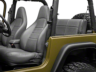 Omix-ADA Tri-Lock Off Road Seat Belt, 3-point Harness - Left Side, Front or Rear - Black (97-02 Wrangler TJ)