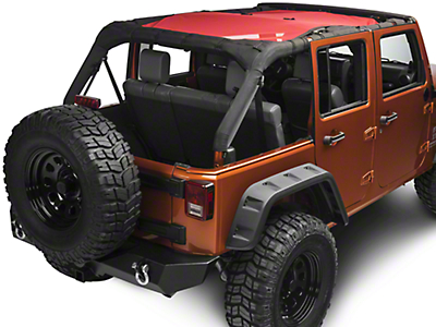 Rugged Ridge Eclipse Sun Shade - Red (07-17 Wrangler JK 4 Door)