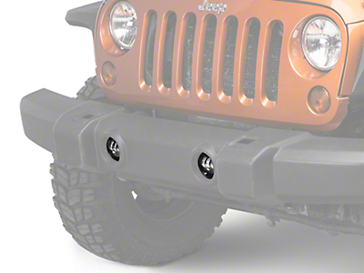 Raxiom LED 4 in. Fog Lights (07-17 Wrangler JK)